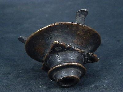 Ancient Bronze Pot Islamic 1400 AD No Reserve #S4790 4