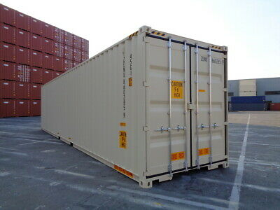 Double Door(DD) - 40' HC New / One Trip Shipping Container in El Paso, TX 2