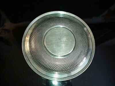George A. Henckel & Co. Sterling Silver Pierced Bowl 1900's 5
