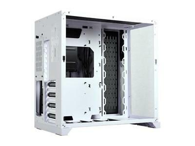 LIAN LI PC-O11 Dynamic White Tempered glass on the front, and left sides. Chassi 4