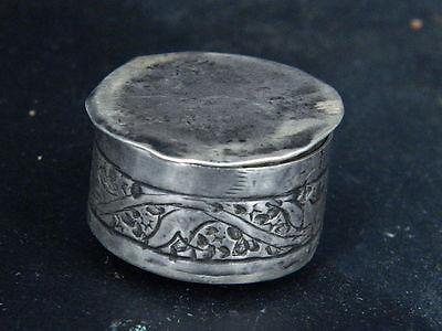 Antique Kashmiri Silver Box   #SG5958 8