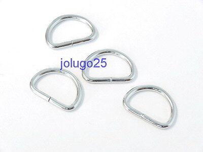 100x 1-1//4/'/' Dee Rings for webbing strapping,1.25 inch Lite D rings 32mm