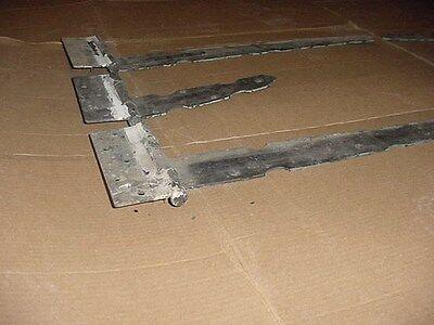 1920's Full Set Antique Gothic Steel Carriage Barn Garage Door 6 Stanley Hinges 3