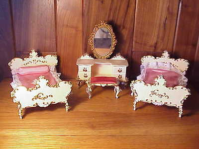 Vintage Spielwaren Boutique Szalasi Rococo Doll Furniture Fancy