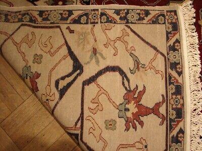 12x18 (141 x 212 in) Chobi Beige Wool Egyptian Fine Quality Handmade Rug 5