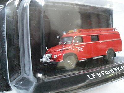 LF8 Ford FK 2500 Feuerwehrleute LKW1:72 Atlas Diecast