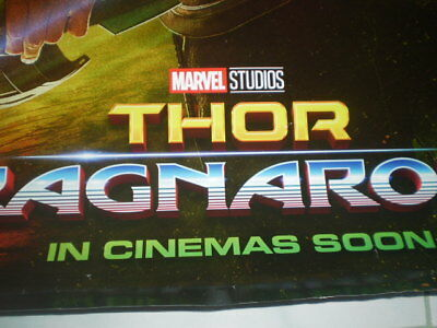 Movie Thor Ragnarok Poster Original Marvel 2017 27x40 Theater Ds S Sided 6
