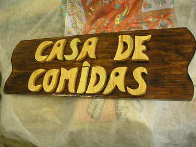 LETRERO de madera personalizado, ROTULACIÓN artesanal 6