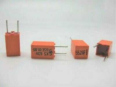 18 Pcs 330pf @ 630V FILM//FOIL POLYSTYRENE 2/% tolerance CAPACITOR 331 AUDIO
