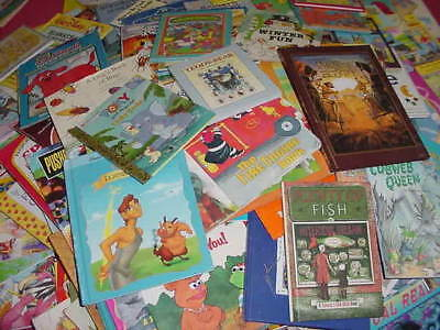 Lot of 20 Childrens Reading Bedtime-Story Time Kids BOOKS RANDOM MIX UNSORTED 7