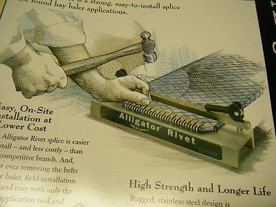 ROUND HAY BALER Belt Tool 7