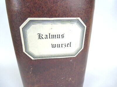 Apothekerdose Pappe Bakelit Aufbewahrung um 1900 3