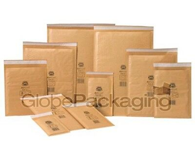 Genuine Jiffy Airkaft Gold Padded Bubble Envelopes Bags *All Sizes/Qty's* 4
