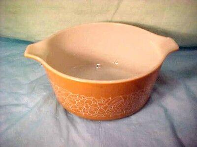 Vintage Pyrex  # 474 -b   Woodland Brown  1.5   Mixing bowl Nesting Bowl   # 22