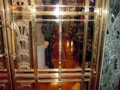 1928 Art Deco American Brass Co. Doors Monumental Architectural Masterpiece 9