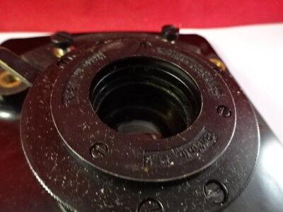 Spencer Ao Table Scène + Condenser Iris Microscope Pièce Américain Optiques 8