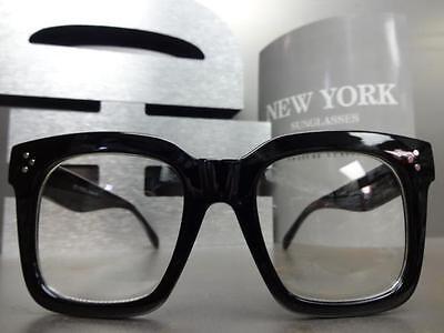 da9bb29838 ... Men Women CLASSIC VINTAGE RETRO Style Clear Lens EYE GLASSES Thick  Fashion Frame 3