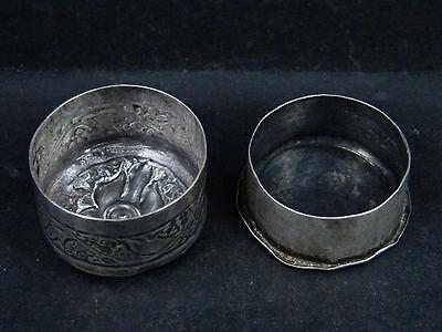 Antique Kashmiri Silver Box   #SG5958 3