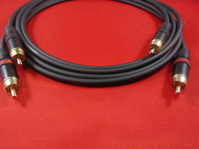 6/' Mogami 2964 S//PDIF 75 Ohm Cable  Black Amphenol RCA to RCA6 Ft.