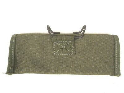 WWII US M15 Rifle Grenade Sight Canvas Carry Case Dated 1944 - Unissued 2