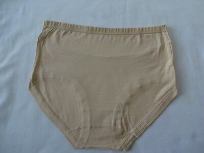 Breathable Anti Bacterial Moisture Absorbing Bamboo Briefs Pants Knicker 1 Pr UK 9