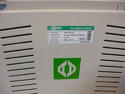 USED 421-0401//// METRONIX APD-VS05N AC SERVO DRIVE