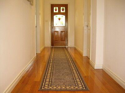 Hallway Runner Hall Runner Rug Modern Grey 6 Metres Long FREE DELIVERY 94645