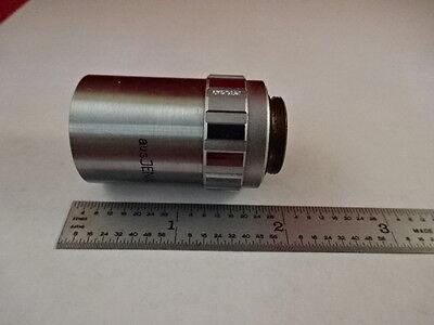 Microscope Pièce Objective Aus Jena Allemand 50X Pol Planachro Optiques Tel Quel 5