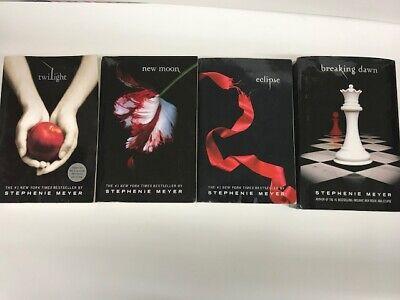 Twilight Saga Meyer Complete Twilight New Moon Eclipse Breaking Dawn 3