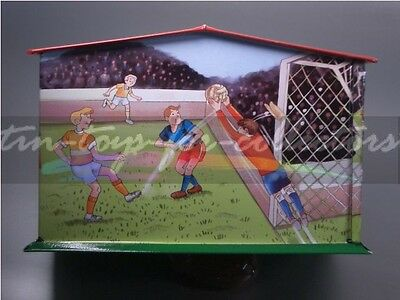 Spardose Fußball Blechspielzeug Elfmeter-Schießen     6648184