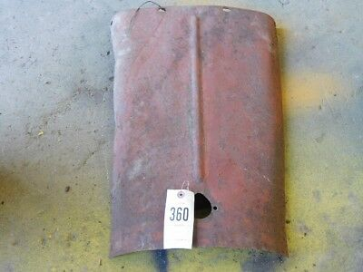 Allis-Chalmers G tractor top hood Tag #360 2