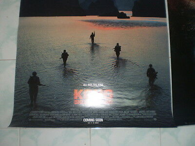 Kong Skull Movie Island Poster 27x40 Original Theater 2017 S D Sided Exclusive 6