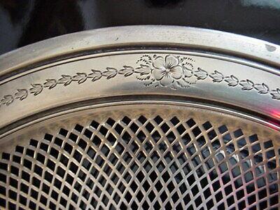 George A. Henckel & Co. Sterling Silver Pierced Bowl 1900's 4