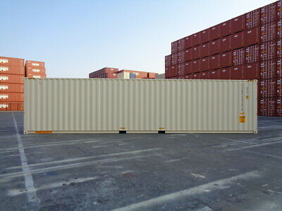Double Door(DD) - 40' New / One Trip Shipping Container in Edmonton, AB, Canada 5