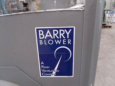 Barry Blower - Model 150VCRBICCW with Siemens 3 HP Motor 3