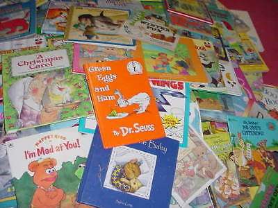 Lot of 10 Childrens Reading Bedtime-Story Time Kids BOOKS RANDOM MIX UNSORTED 8