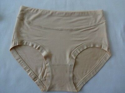 Breathable Anti Bacterial Moisture Absorbing Bamboo Briefs Pants Knicker 1 Pr UK 8