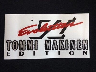 Mitsubishi Evo Tommi Makinen and Evo VI rear boot decal five options! 5