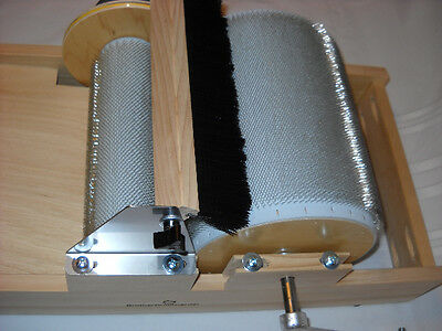 NEW STANDARD BROTHER DRUM CARDER COARSE MEDIUM OR FINE TOOTH
