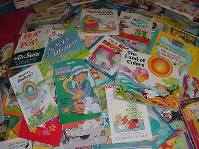 Lot of 10 Childrens Reading Bedtime-Story Time Kids BOOKS RANDOM MIX UNSORTED 2