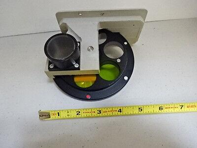 Microscope Pièce Reichert Polyvaer Leica Filtre Roue Optiques Tel Quel #V3-C-05 10