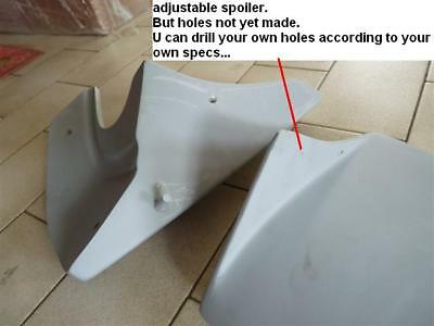 for JDM Starlet EP82 rear bumper lip pod pods 4E GT Turbo valance