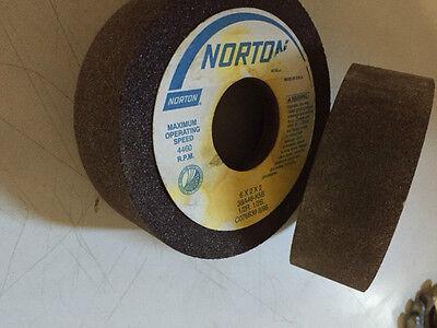 1-6 x 2 x 1-1//2 Type 1 Norton 80-SR51 Feed Regulating Wheel Centerless grinding