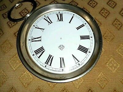 For American Clocks- Ansonia Paper (Card) Clock Dial - 125mm M/T - Parts/Spares 6