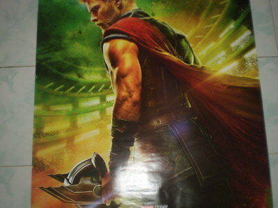 Movie Thor Ragnarok Poster Original Marvel 2017 27x40 Theater Ds S Sided 3