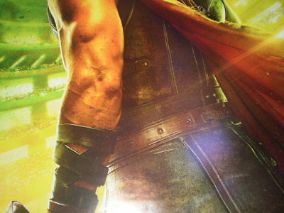 Movie Thor Ragnarok Poster Original Marvel 2017 27x40 Theater Ds S Sided 9
