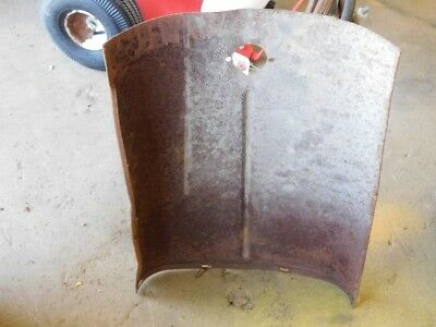 Allis-Chalmers G tractor top hood Tag #360 3