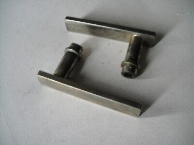 1 Einzel-Türklinke Nickel Bauhaus Gropius Meyer Kramer S.A.Loevy 20er Loft