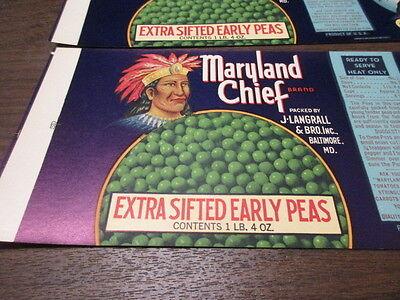 Elephant Salinas CA. Wholesale Lot of 25 Old Vintage HEFTY Vegetable LABELS