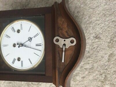 Comitti Of London Palladian Wall Clock Westminster Chimes - Model C3871CH 5